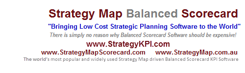 www.StrategyKpi.com - Strategy Map Balanced Scorecard